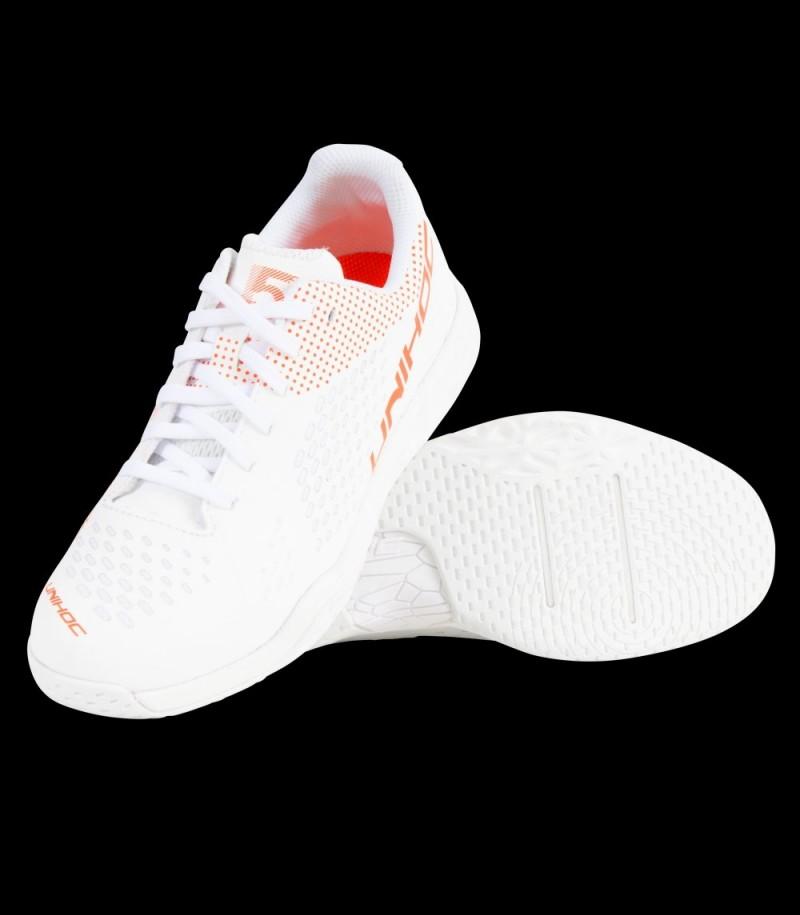 unihoc U5 Pro LowCut Women Weiss/Coral