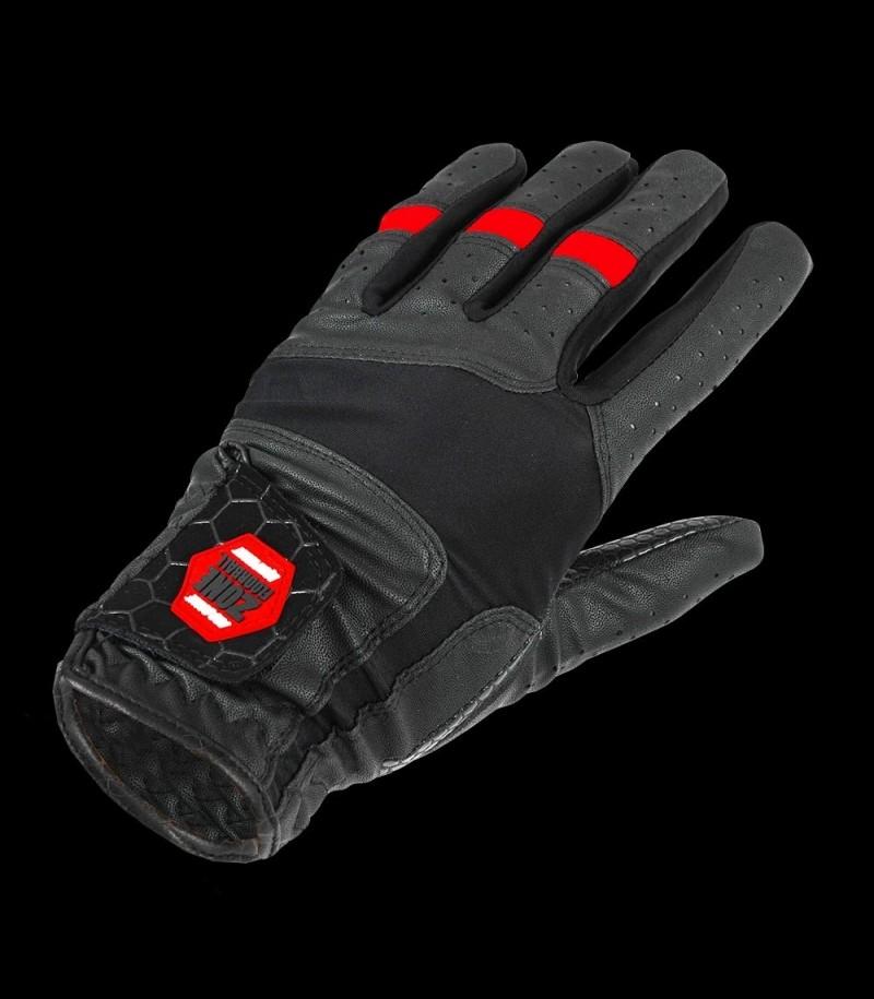 Zone Torhüterhandschuhe Pro schwarz/rot