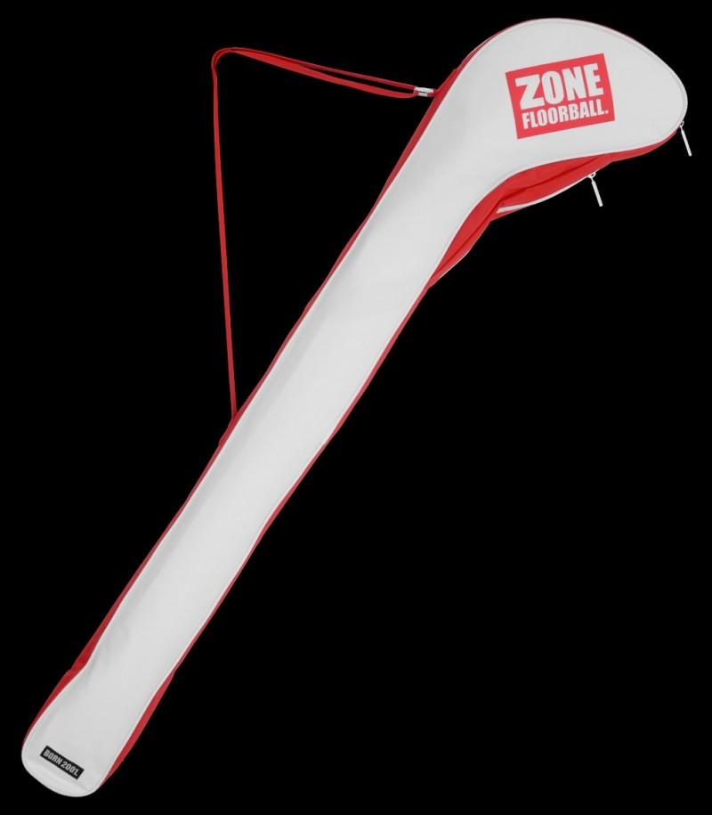 Zone Schlägertasche Almighty Junior Weiß/Rot