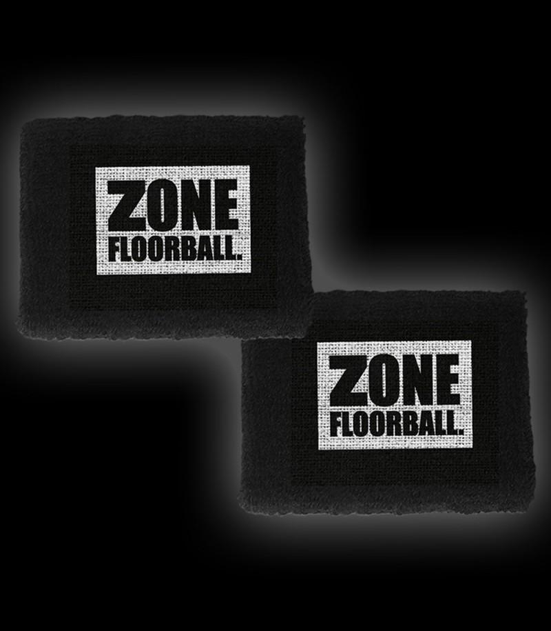 Zone Schweissband Logo Schwarz