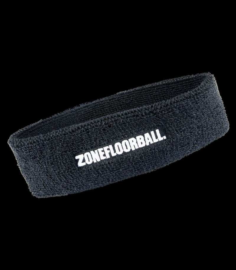 Zone Headband Retro Schwarz