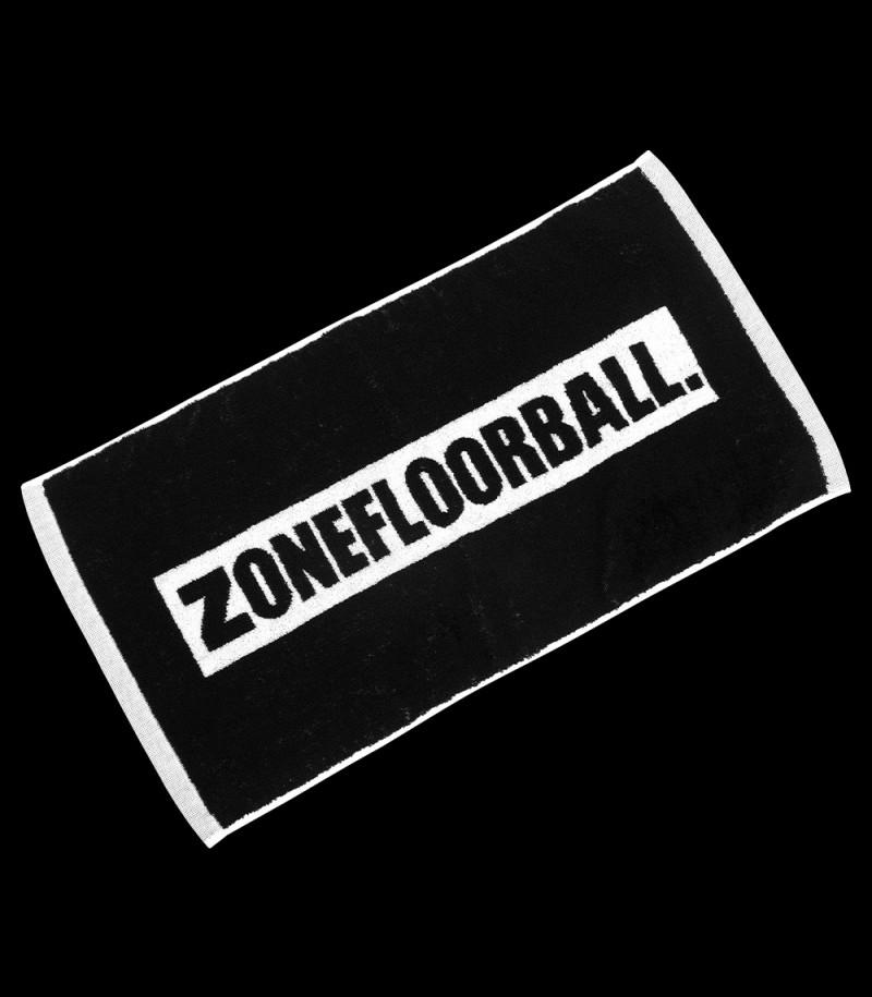 Zone Handtuch Showertime schwarz klein