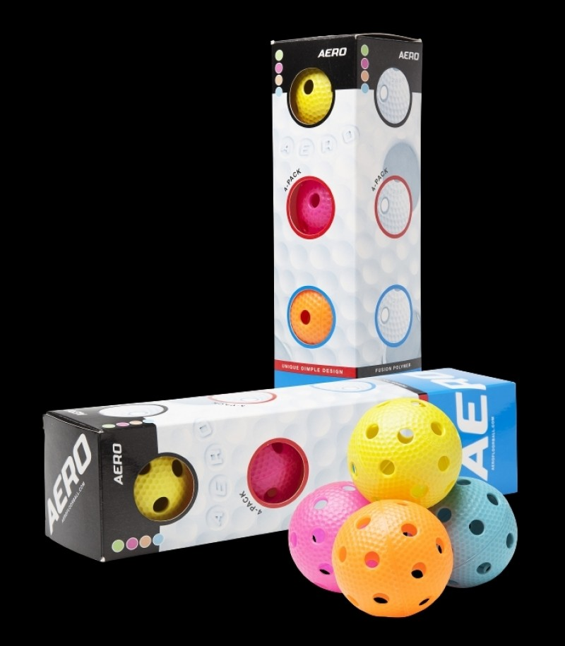 Salming Aero Floorball 4-Pack Bunt