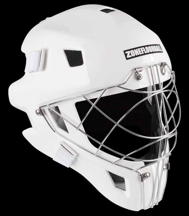 Zone Torhütermaske Monster Cateye Cage All White