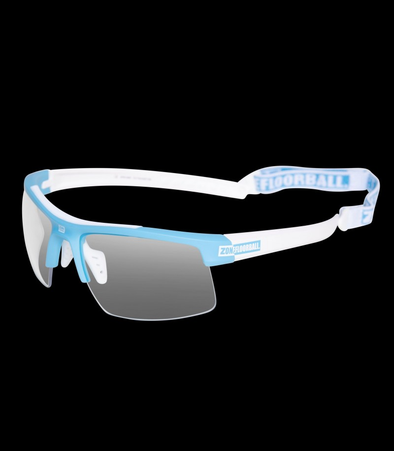 Zone Sportbrille Protector Junior Blau/Weiss