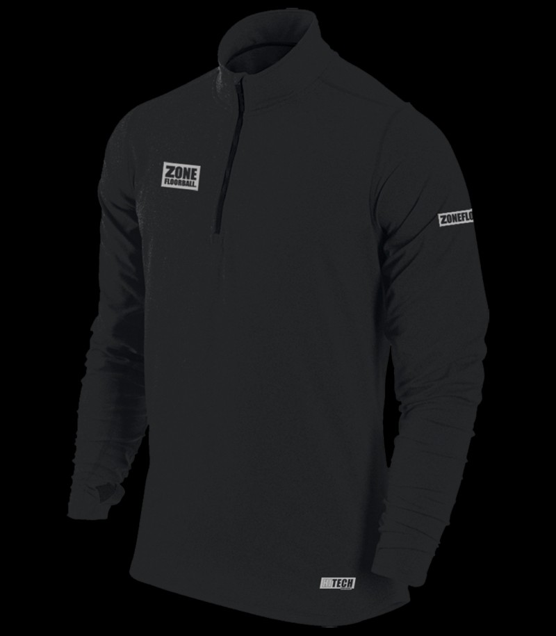 Zone T-Shirt HITECH Longsleeve Schwarz