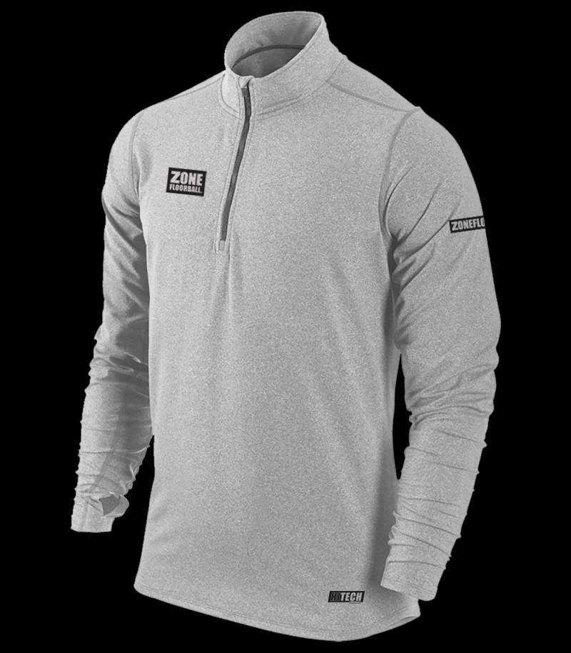 Zone T-Shirt HITECH Longsleeve Grau
