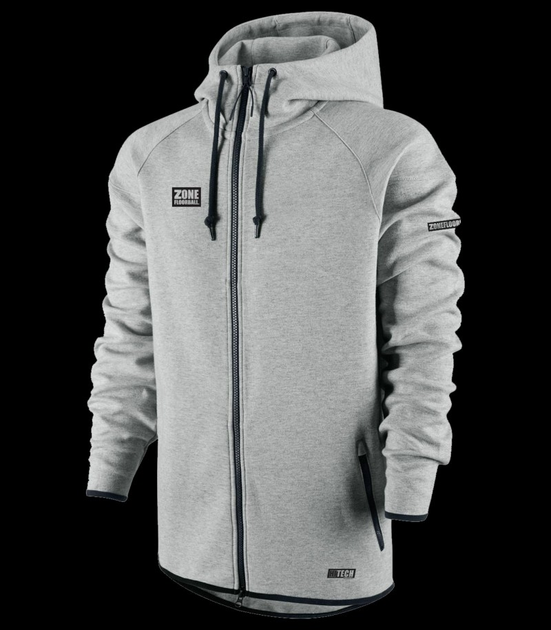 Zone Hood Zip Hightech Grau