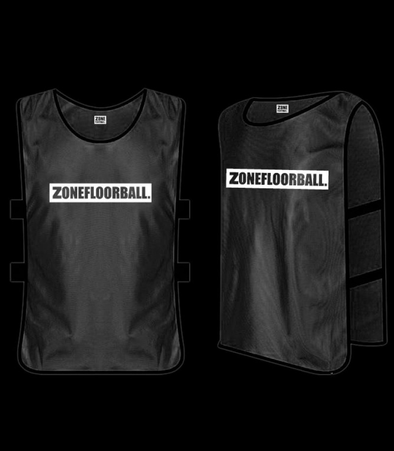 Zone Trainingsweste ZONEFLOORBALL schwarz