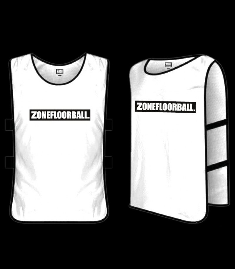 Zone Trainingsweste ZONEFLOORBALL weiss
