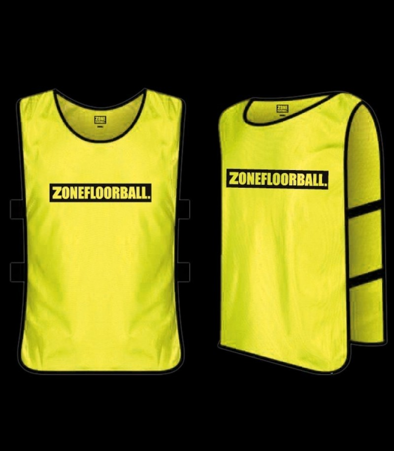 Zone Trainingsweste ZONEFLOORBALL neongelb