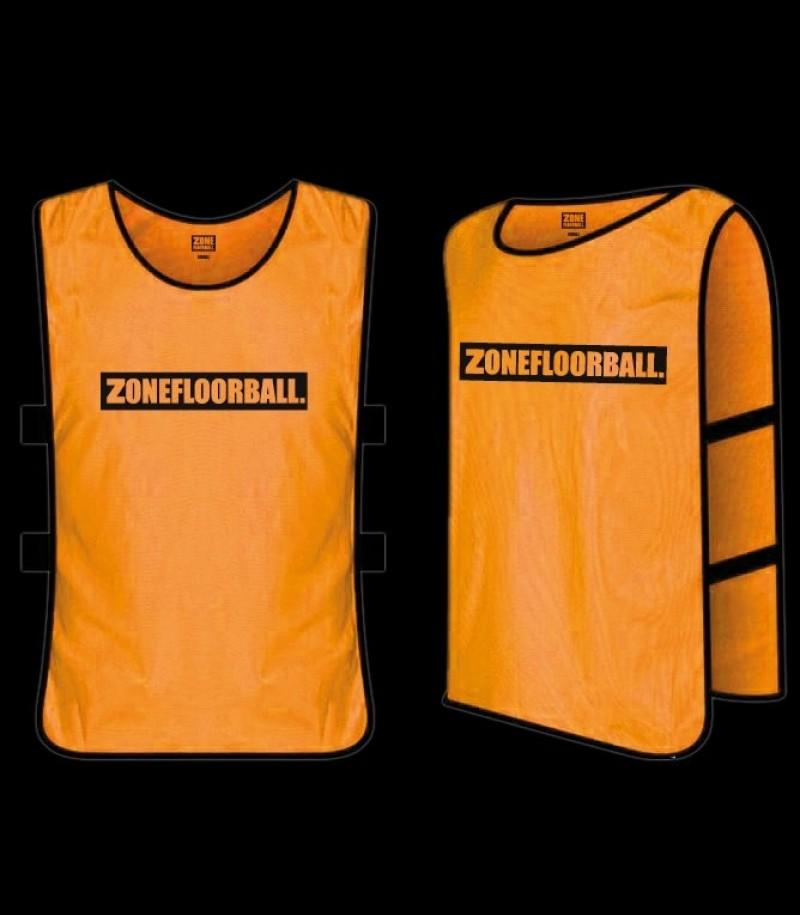 Zone Trainingsweste ZONEFLOORBALL Neonorange