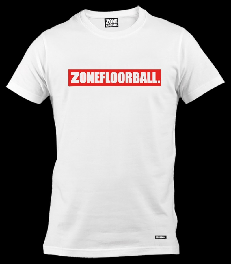 Zone T-Shirt Personal Weiss