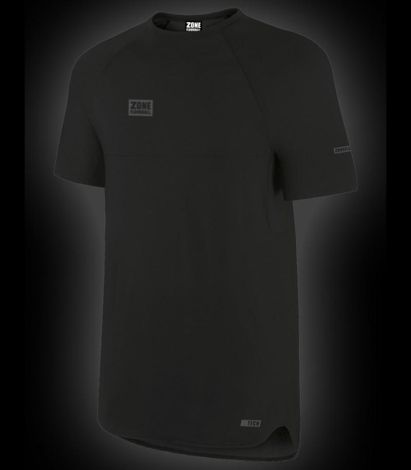 Zone T-Shirt HITECH Indoor Schwarz