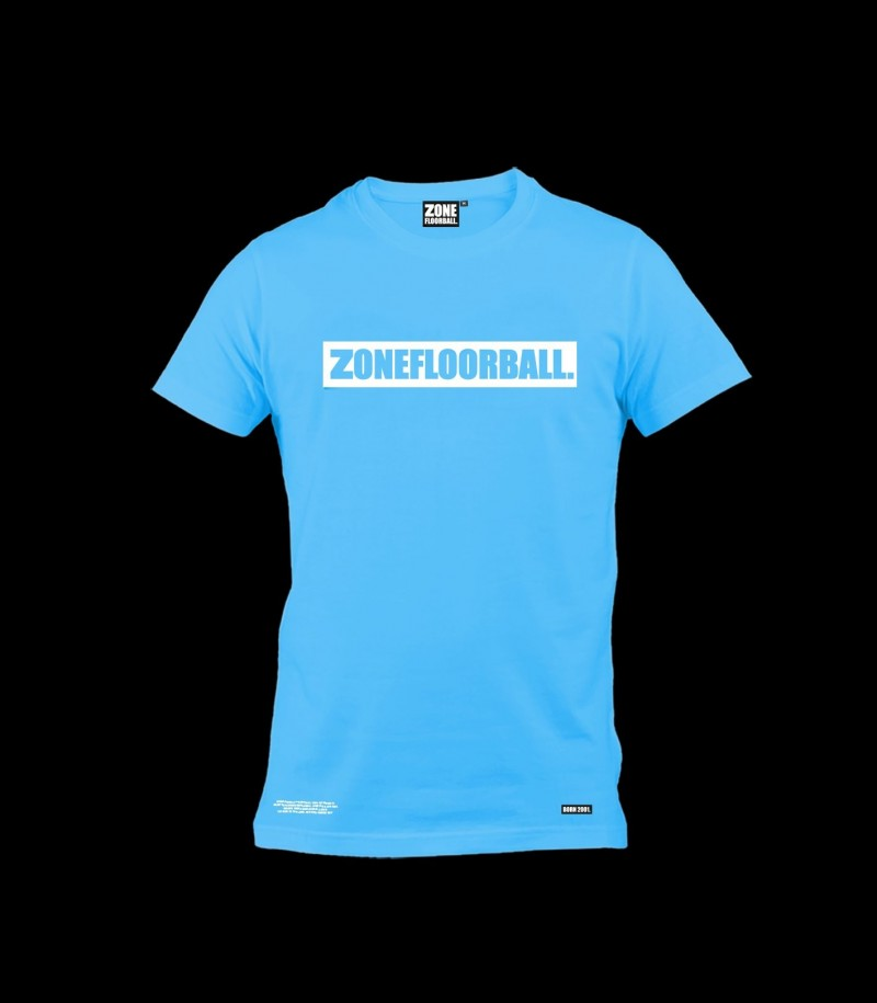 Zone T-Shirt Personal Ice Blue
