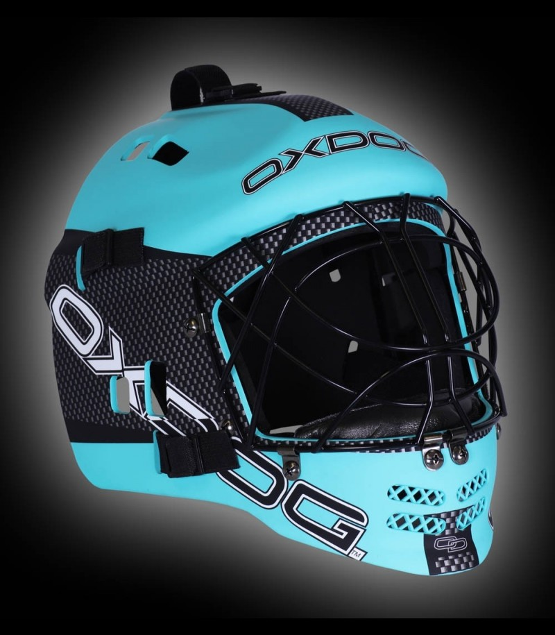 OXDOG Goaliemaske VAPOR Junior Tiff Blue