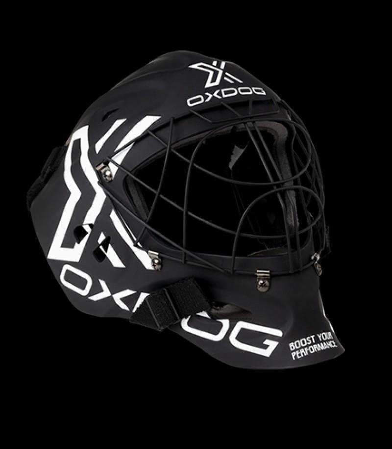 OXDOG Goaliemaske XGuard Senior Schwarz