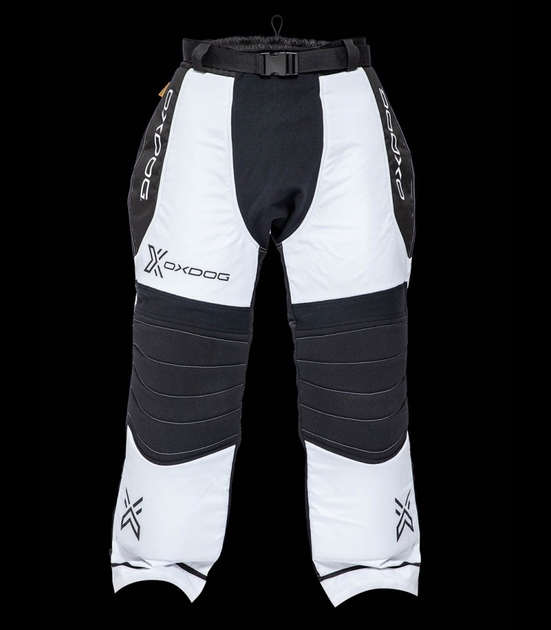 Oxdog Goalie Pants Tour+ Schwarz/Weiss