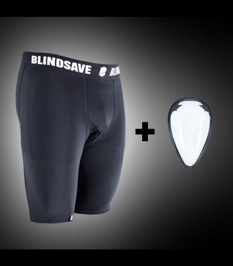 Blindsave Compression Shorts mit Cup
