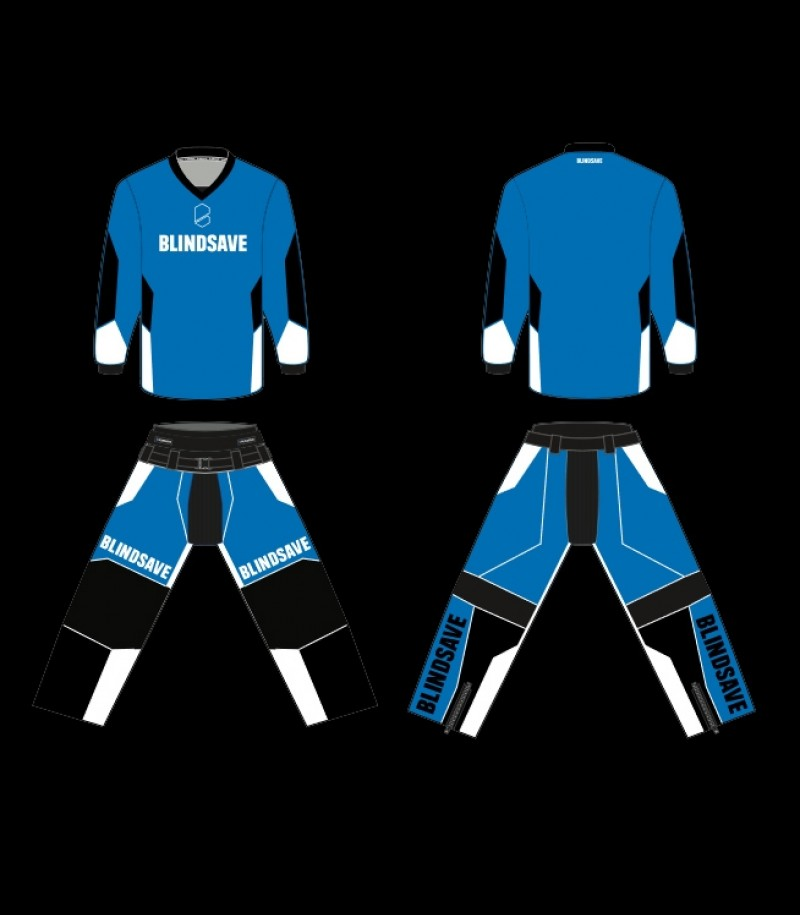 Blindsave Custom Made Goalie Suit Confidence