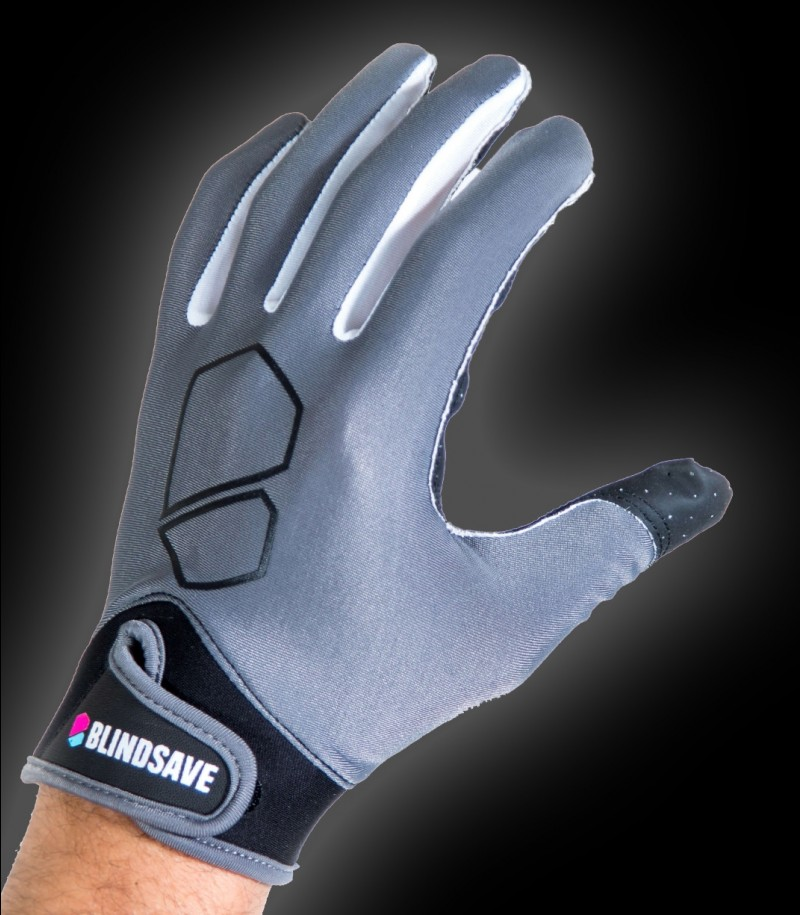 Blindsave Goalie Gloves Premium Grey 2019