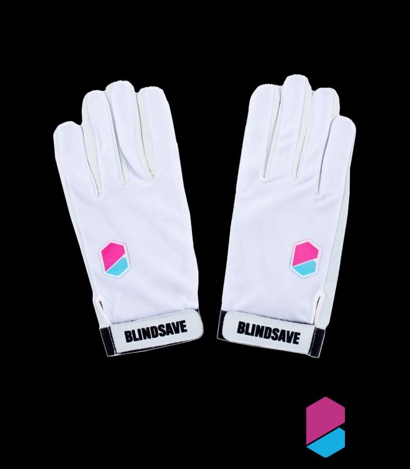 Blindsave Goalie Gloves Premium White
