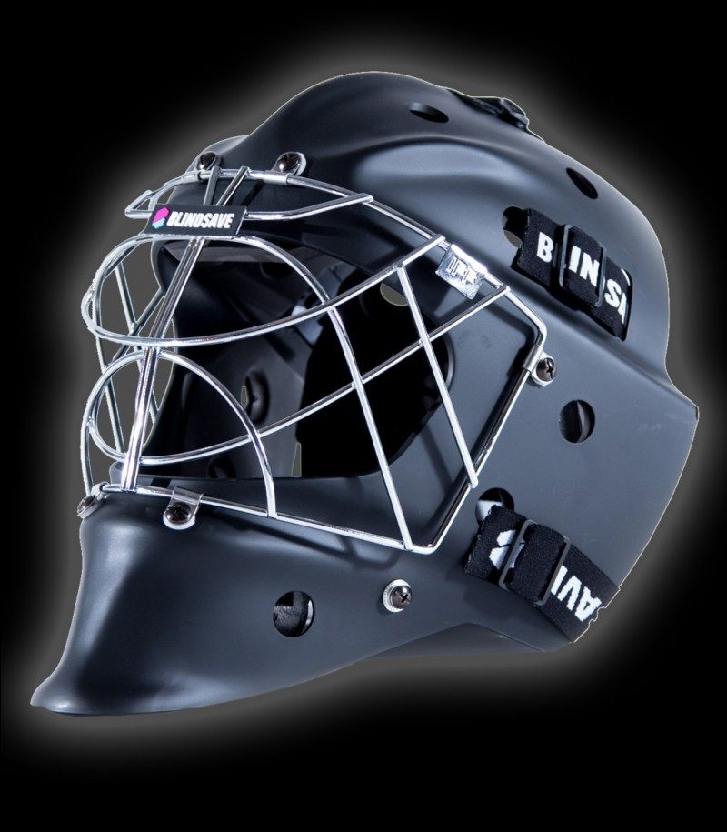 Blindsave Goaliemask Black MATT