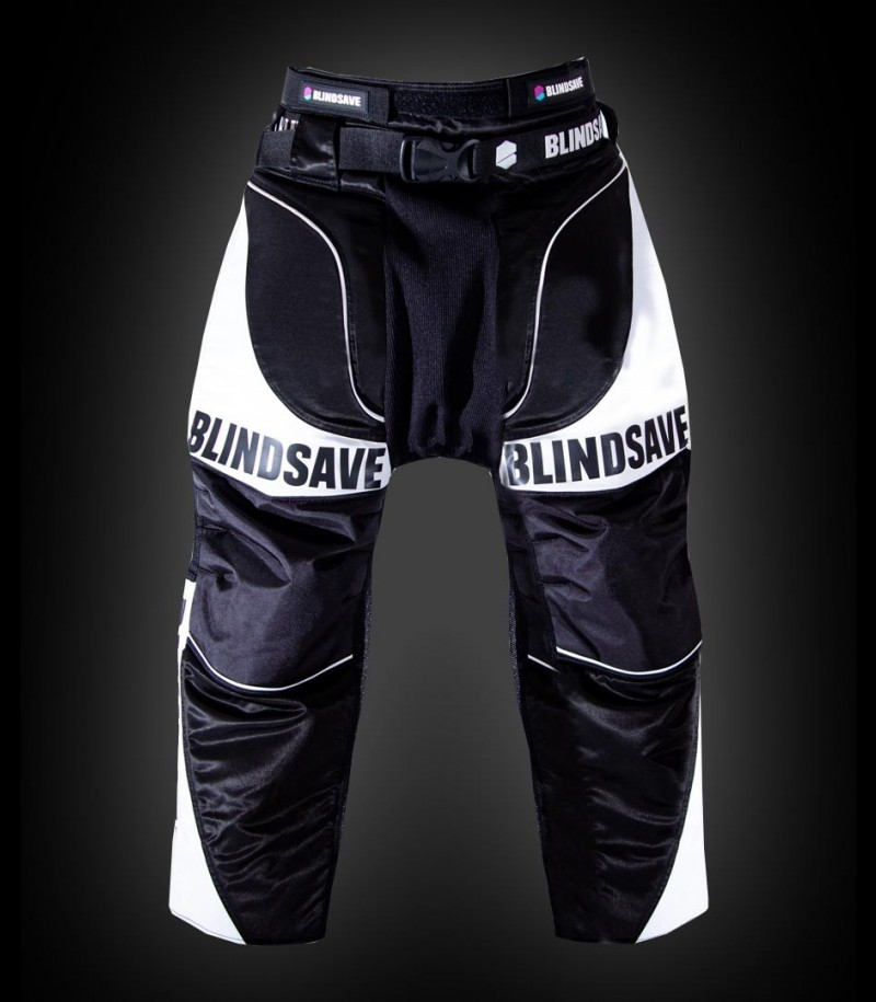 Blindsave Goalie Pants Supreme Schwarz