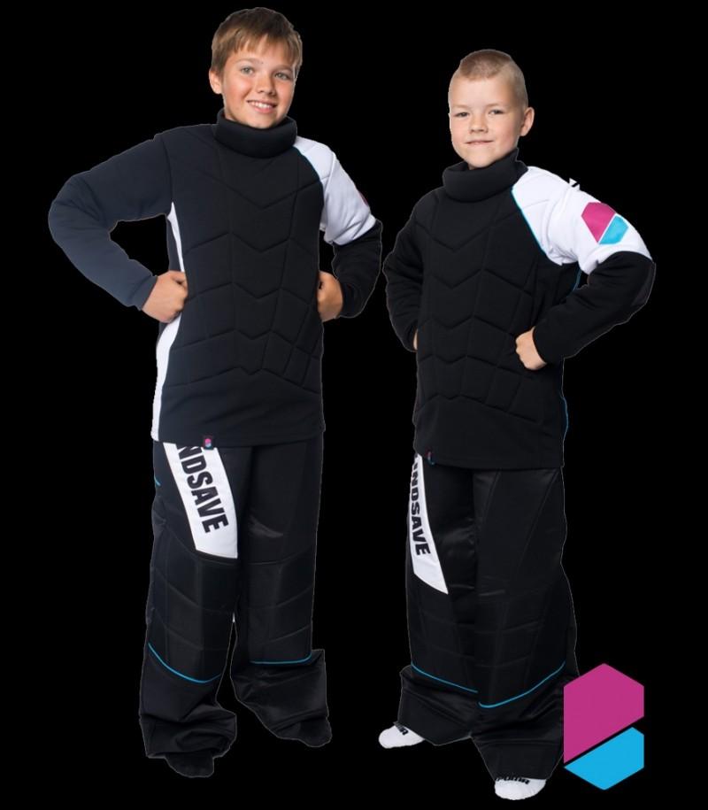 Blindsave Goalie Set Kids Black