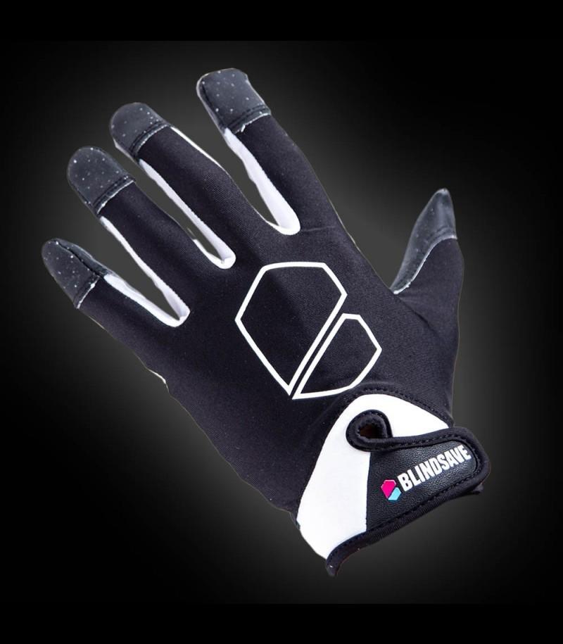 Blindsave Goalie Gloves Supreme Schwarz