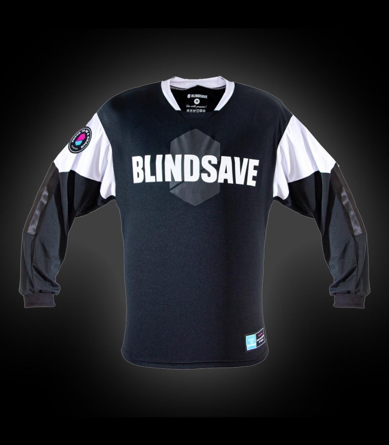 Blindsave Goalie Jersey Supreme Schwarz