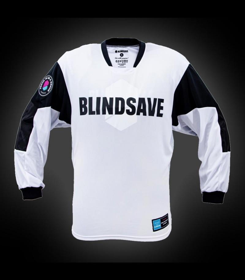 Blindsave Goalie Jersey Supreme Weiss