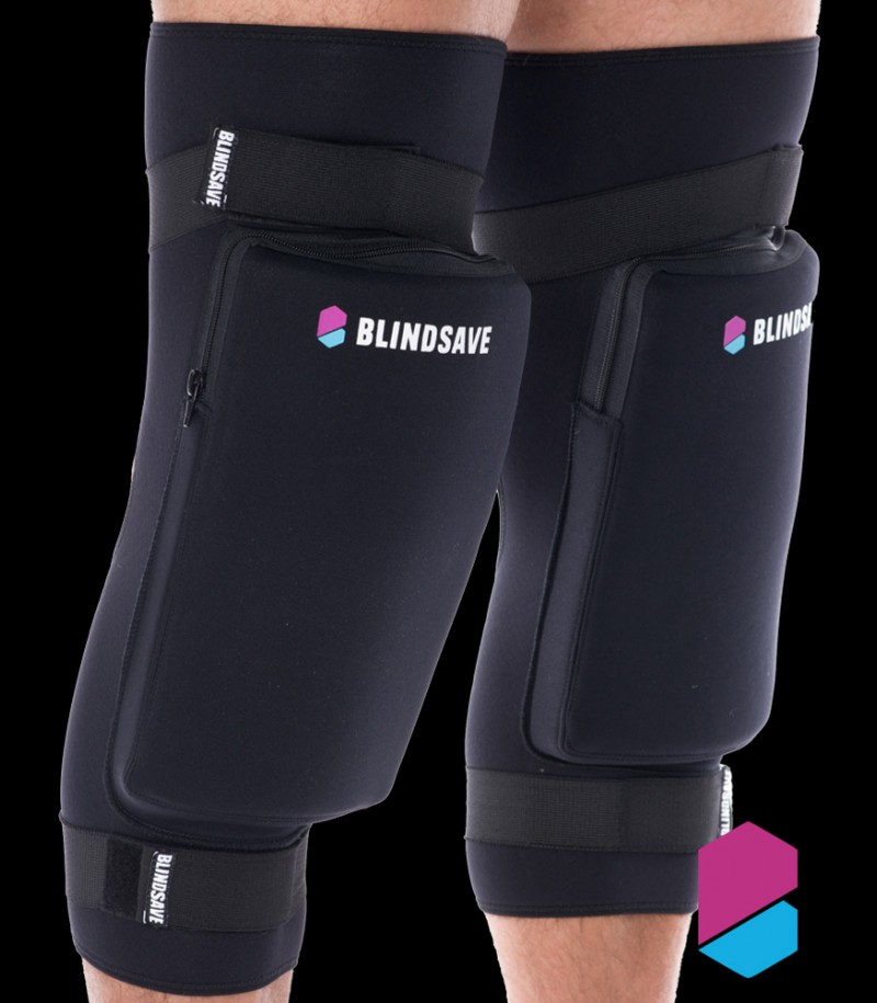 Blindsave Goalie Kneepad Premium - Hard
