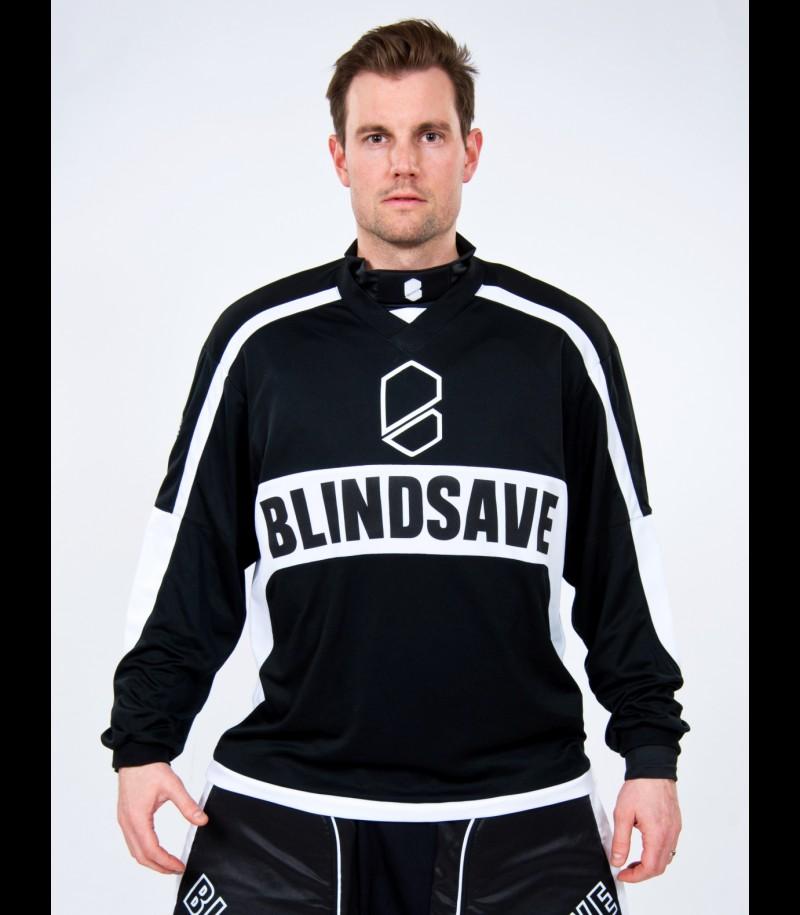 Blindsave Pro Goalie Jersey Black