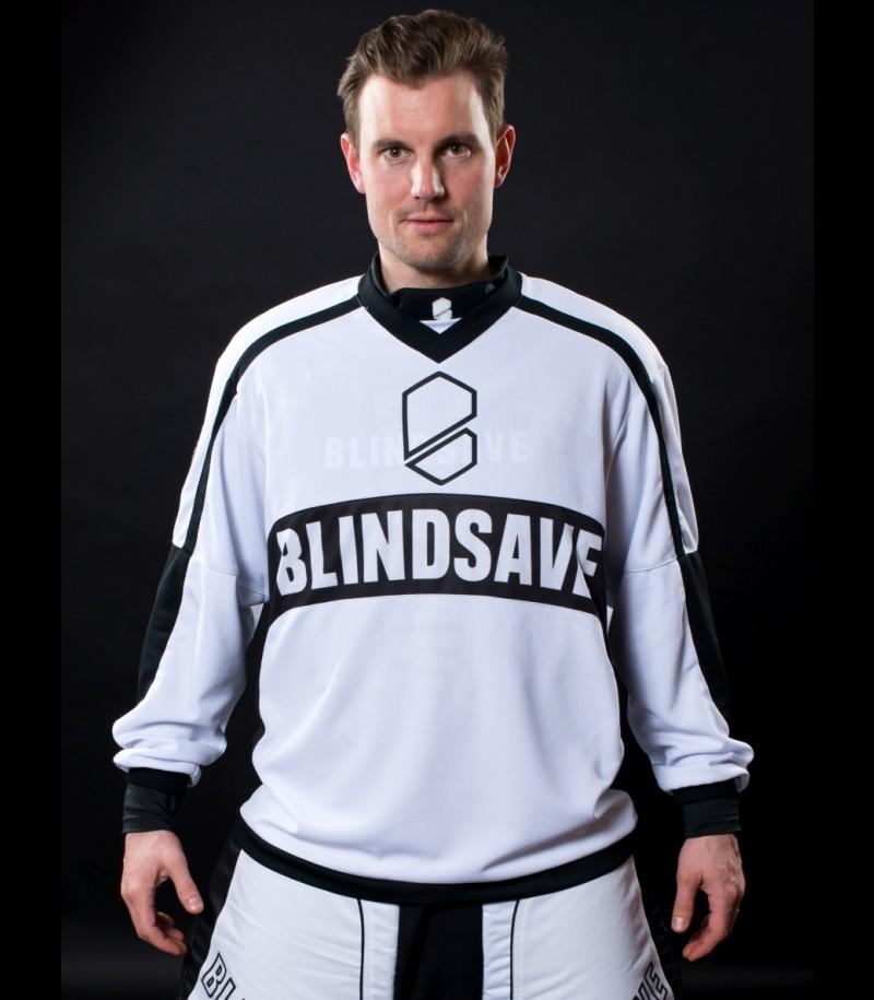 Blindsave Pro Goalie Jersey White