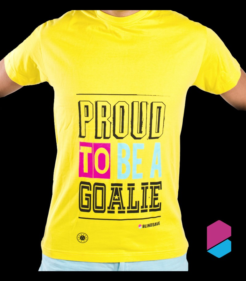 Blindsave T-Shirt Proud to be a Goalie