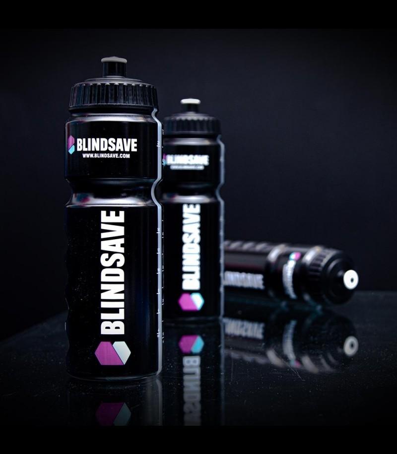 Blindsave Trinkflasche 750 ml Schwarz