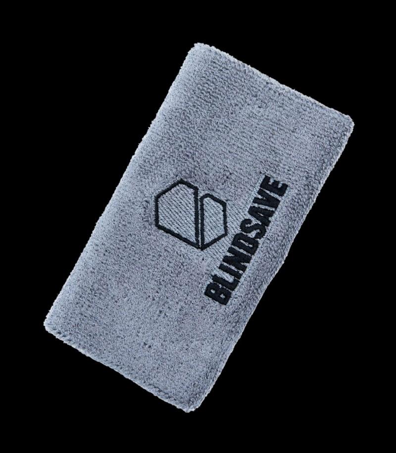 Blindsave Schweissband Grau mit Rebound Control