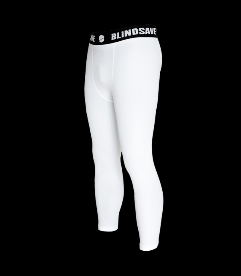 Blindsave Compression Tights Weiss