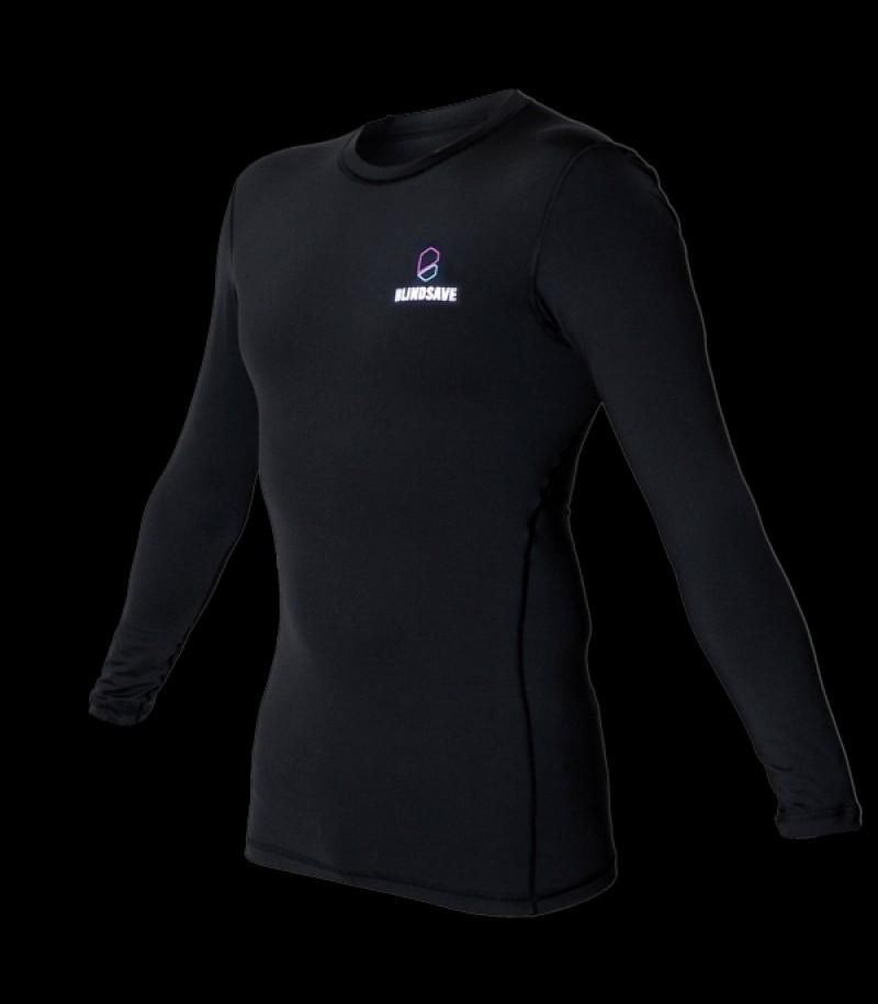 Blindsave Compression Shirt Long Sleeve Schwarz