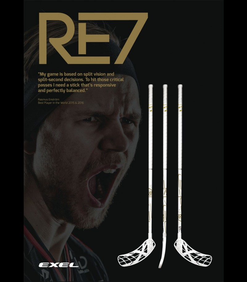 Exel RE7 Rasmus Enström White Edition Junior 3.4