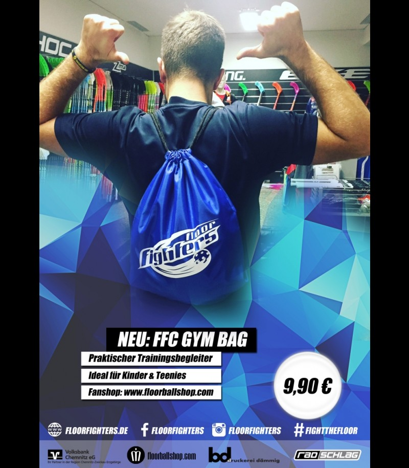 FLOOR FIGHTERS Gym Bag