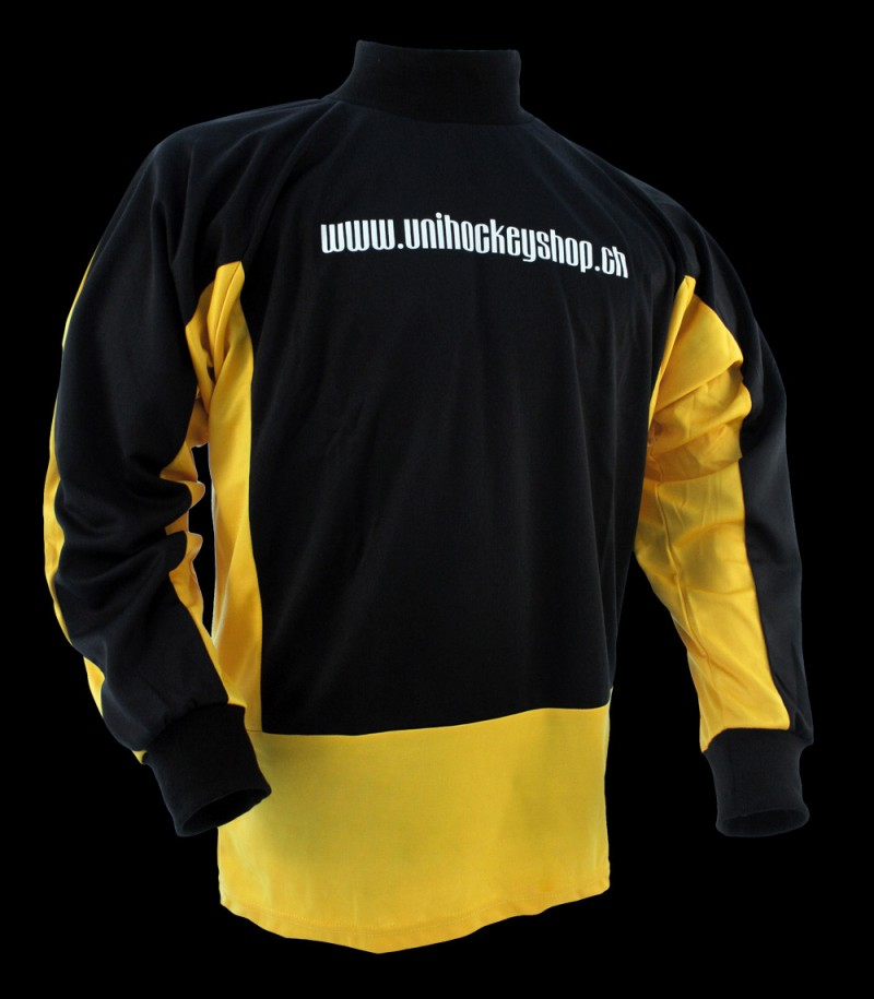 floorballshop.com Goaliepullover Progress schwarz-grau
