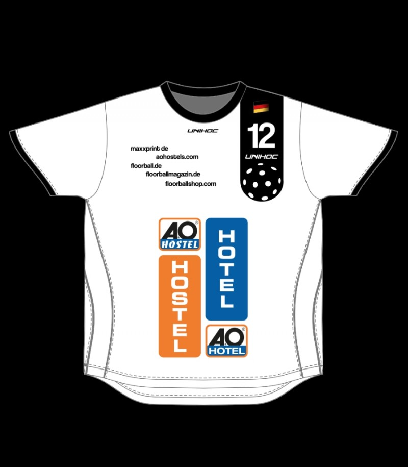 Trikot deutsche Nationalmannschaft Floorball