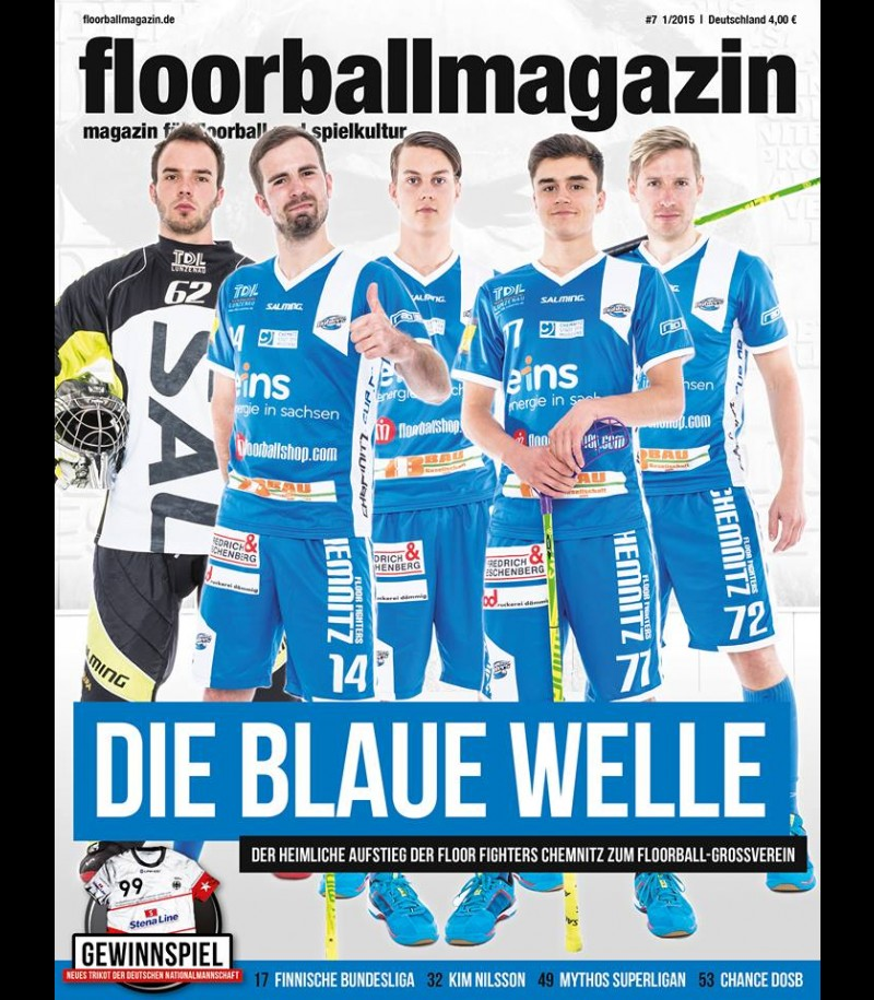 Floorballmagazin - Printausgabe 7 - März 2015