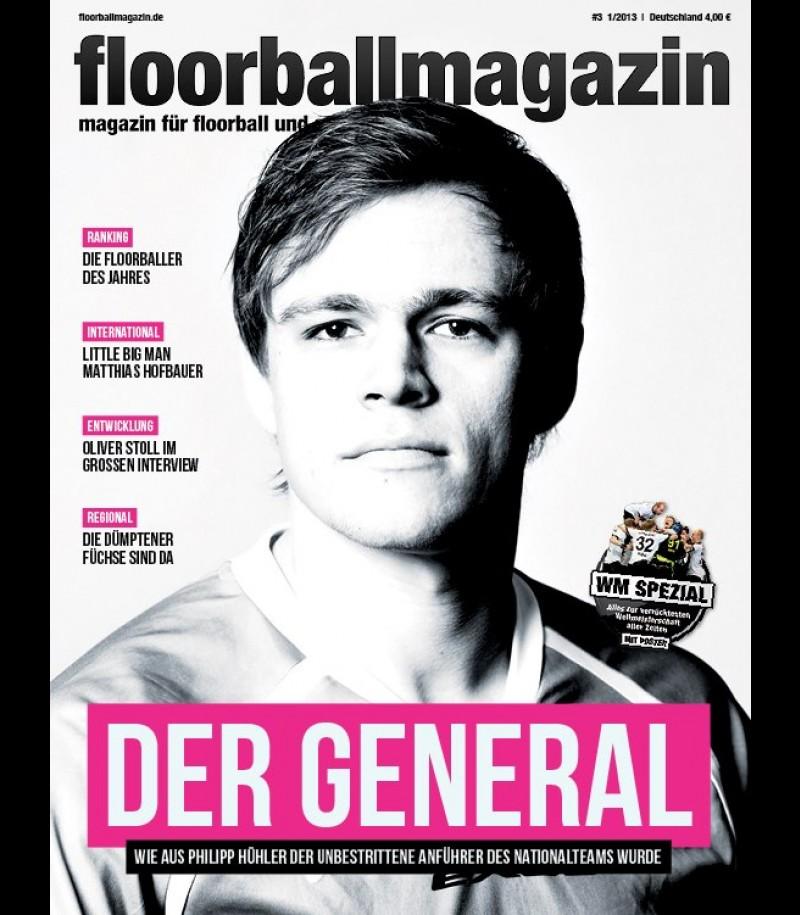 Floorballmagazin - Printausgabe 3 - Februar 2013