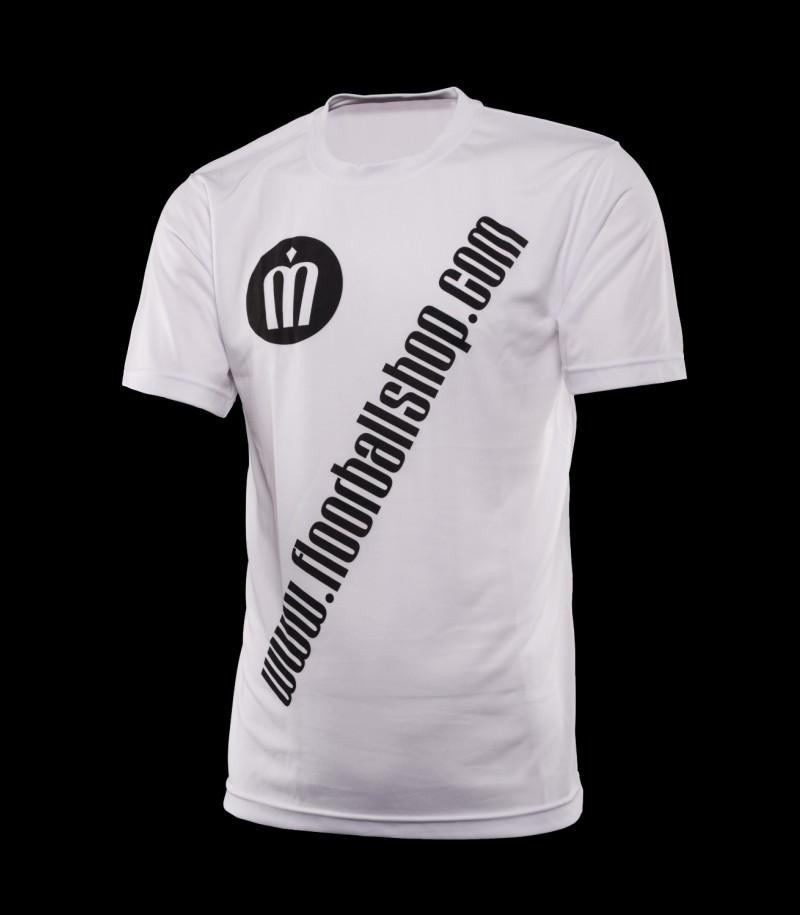 floorballshop.com Cool Jersey - Moon White