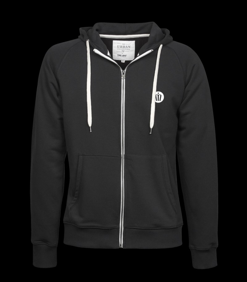 floorballshop.com Urban Zip Hoodie Black