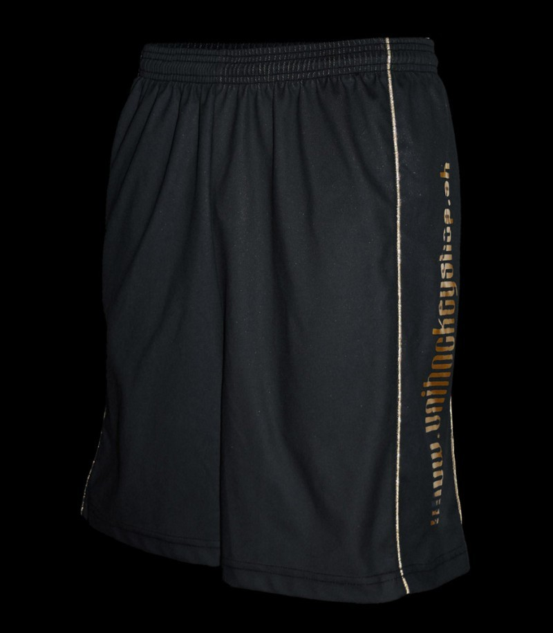 floorballshop.com Shorts exklusiv Black/Gold