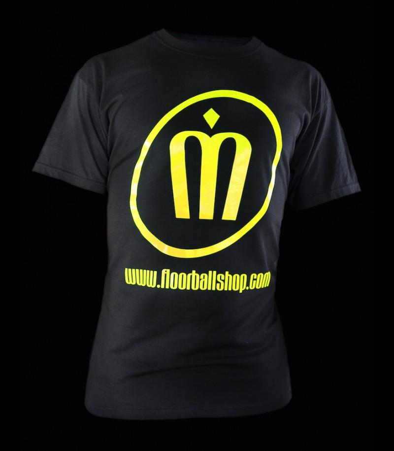 floorballshop T-Shirt Neon Line